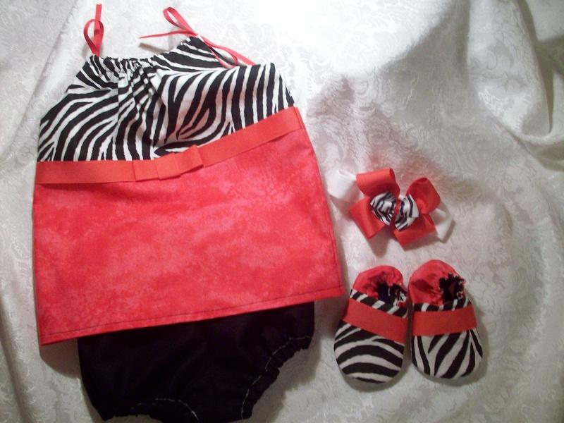 Baby Girl Dress Gift Set