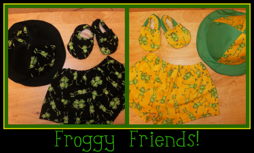 Just Froggy!  Baby Boy Gift Set